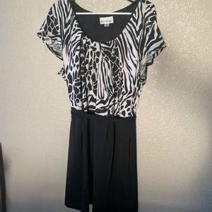 Cute belted short sleeve dress size 22w